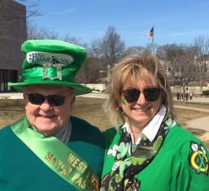 Mayor Pradel and Patty